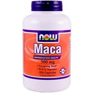 Maca, Now Foods, 500 mg, 250 Capsules