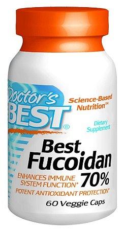 Best Fucoidan 70%, Doctor's Best, 60 Veggie Caps