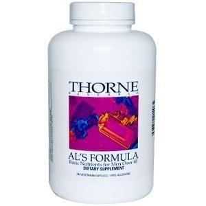 Al's Formula, Thorne Research, 240 Veggie Caps