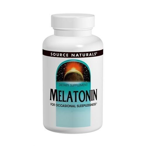 Melatonina, Timed Release, Source Naturals, 3 mg, 240 Tablets