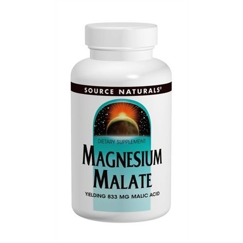 Magnesium Malate, Source Naturals, 1250 mg, 180 Tablets