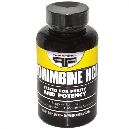 Yohimbine HCI, Primaforce, 2,5 mg, 90 Veggie Caps