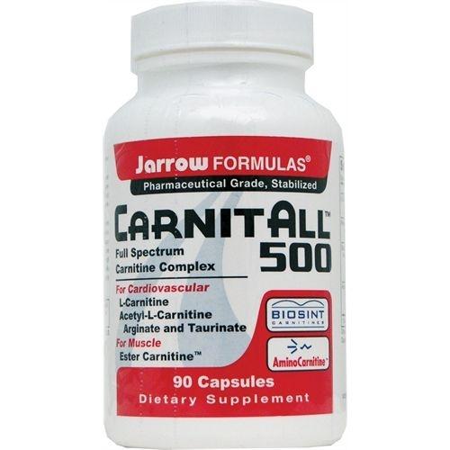 CarnitAll 600+, Complexo de Carnitina Full Spectrum, Jarrow Formulas, 90 Veggie Caps