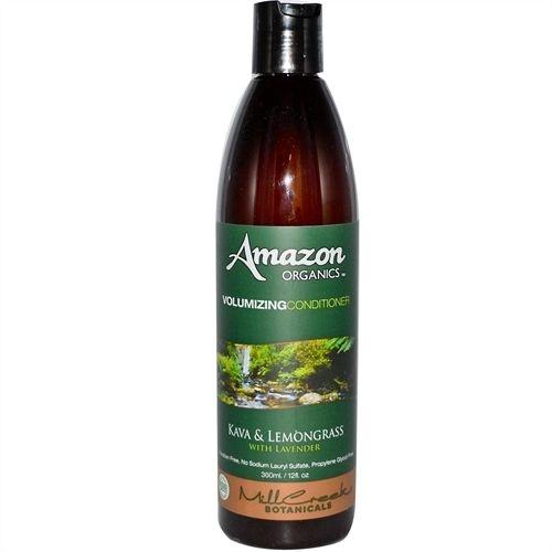 Condicionador Volumizing Orgânico, Kava e Limão com Lavanda, Mill Creek, Amazon Organics, (360 ml)