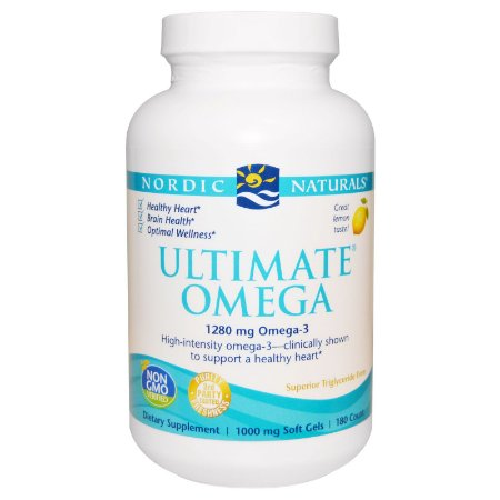 Ultimate Omega, Sabor Limão, Nordic Naturals, 1.000 mg, 180 Soft Gels