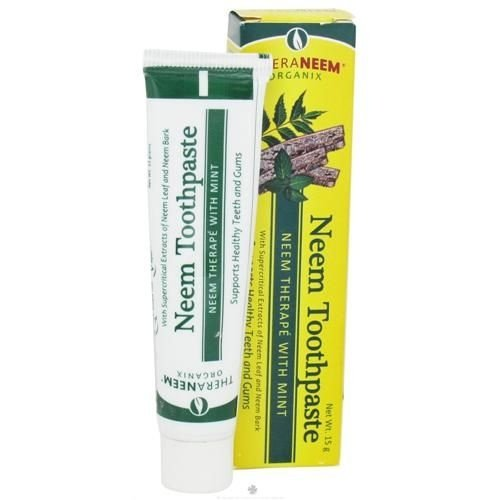 Creme Dental de Neem com Hortelã, TheraNeem Organix, Organix South, 4,23 oz (120 g)