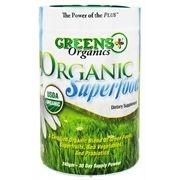Super Alimentos Verdes Orgânicos em Pó, Greens Plus, Organics, 240 g