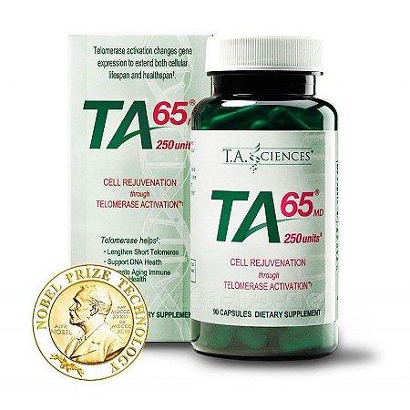TA-65, Ativador da Telomerase, 90 cápsulas