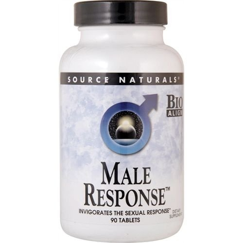 Male Response, Source Naturals, 90 Tablets