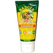 Protetor Solar, SPF 30+, Anti-Bug, Badger, 2,9 oz (87 ml)