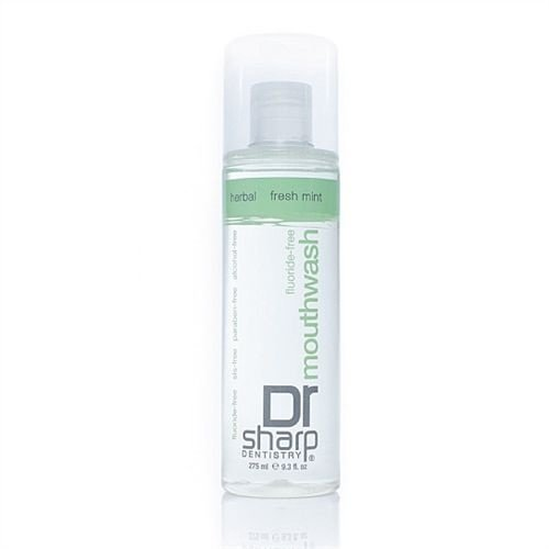 Enxaguante Bucal Herbal Fresh Mint, Dr. Sharp, 275 ml