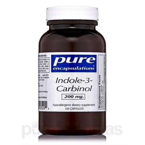 Indole-3-Carbinol, Pure Encapsulations, 200 mg, 120caps