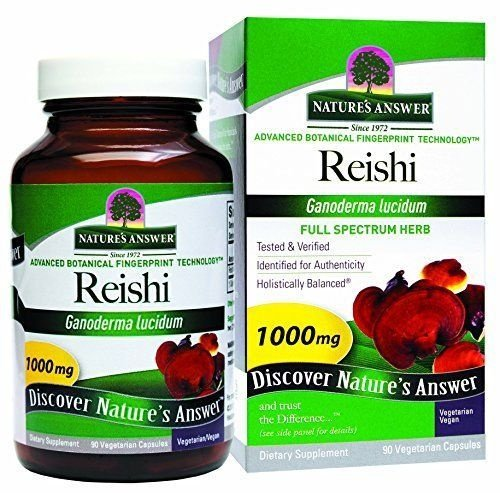 Reishi, Nature's Answer, 1000 mg, 90 Veggie Caps