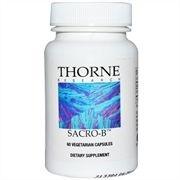 Sacro-B(Saccharomyces boulardii), Thorne Research, 60 Veggie Caps