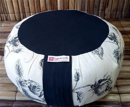 Almofada de Meditação Zafu Estampado