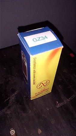 Válvula Retificadora GZ34S JJ Tesla