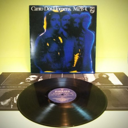 Disco LP MPB4 - Canto dos Homens
