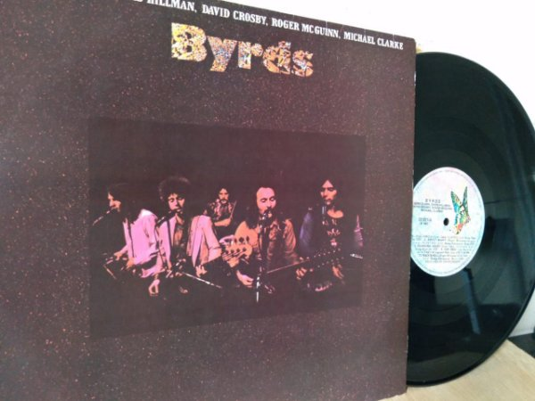Lp The Byrds Full Circle For Free David Crosby 1981 Nacional