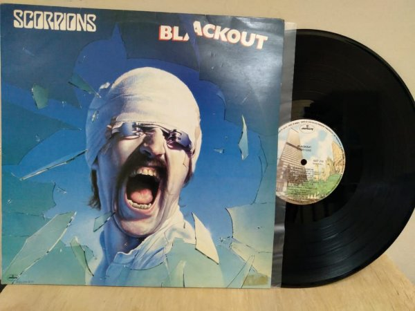 Lp Scorpions Blackout Ed Nacional Original 1982
