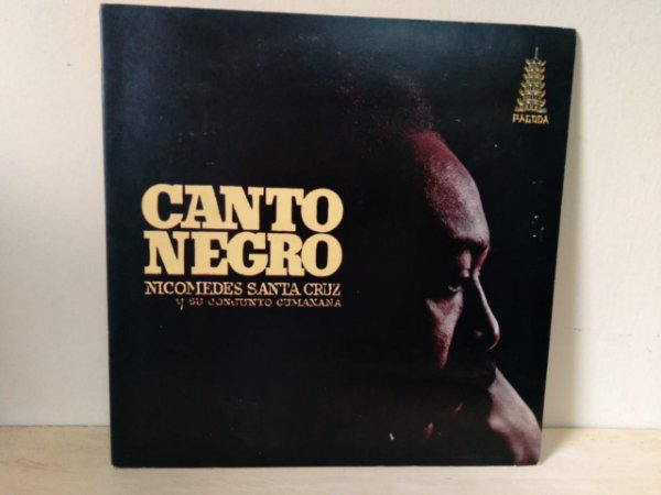 Lp Nicomedes Santacruz Conjunto Cumanana Canto Negro Ed Argentin
