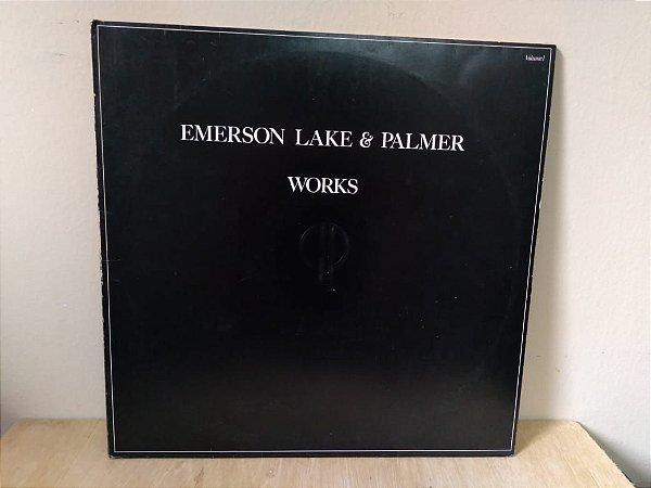 Lp Emerson Lake & Palmer Works Volume 1 1977 Duplo Nacional
