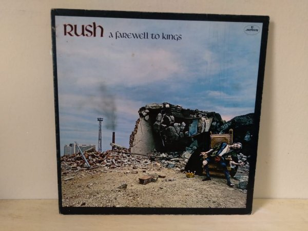Lp Rush Farewell To Kings Importado Inglês Capa Dupla Mercury 1977
