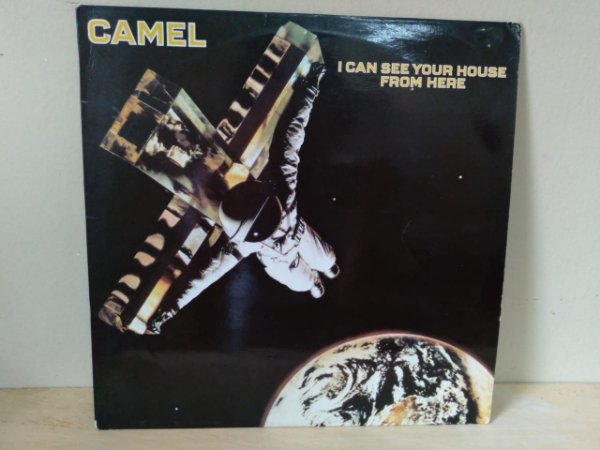 Lp Camel I Can See Your House From Here Importado Alemão 1979