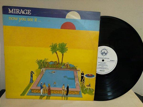 Lp Mirage Now You See It... 1977 Importado Prog Jazz Rock