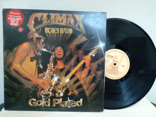 Lp Climax Blues Band Gold Plated Importado Uk 1976