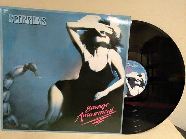 Lp Scorpions Savage Amusement Imp Holandês 1988 Encarte