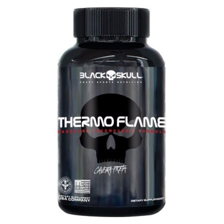 THERMO FLAME (120TABS) BLACK SKULL