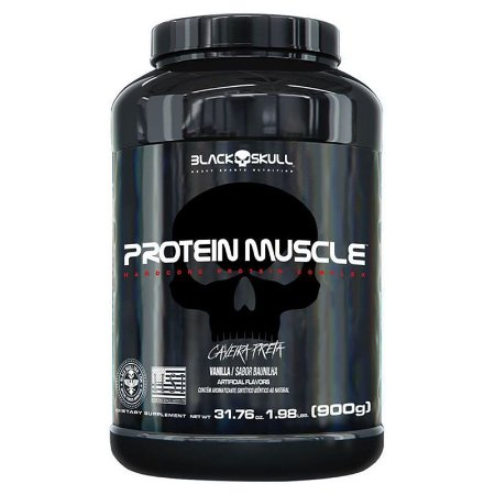 PROTEIN MUSCLE  (900G) BLACK SKULL
