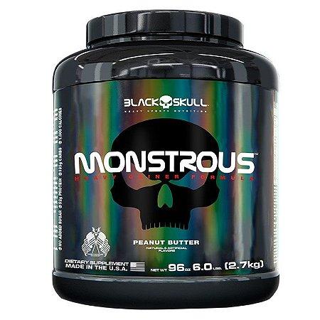 MONSTROUS HIPERCALÓRICO (2.7KG) BLACK SKULL