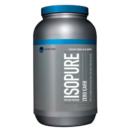 LOW CARB ISOPURE (1.3KG) NATURE'S BEST