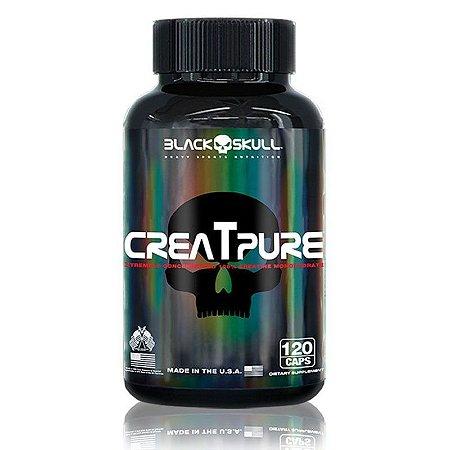 CREATPURE (120CAPS) BLACK SKULL