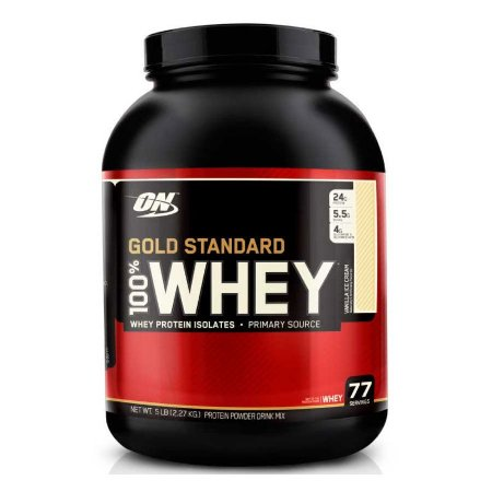 100% WHEY PROTEIN GOLD STANDARD (5LB/2.27G) OPTIMUM