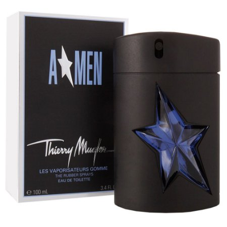 Perfume Angel Rubber Flask Thierry Mugler Eau de Toilette Masculino 100 ml
