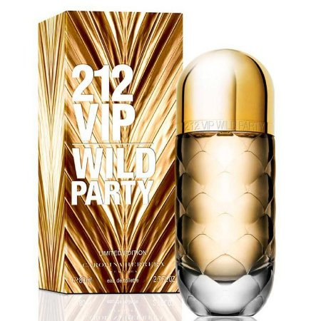 Perfume 212 Vip Wild Party Carolina Herrera Eau de Toilette Feminino 80 ml