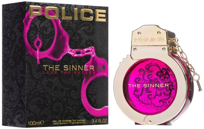 Perfume The Sinner Police Feminino Eau de Toilette 100ml