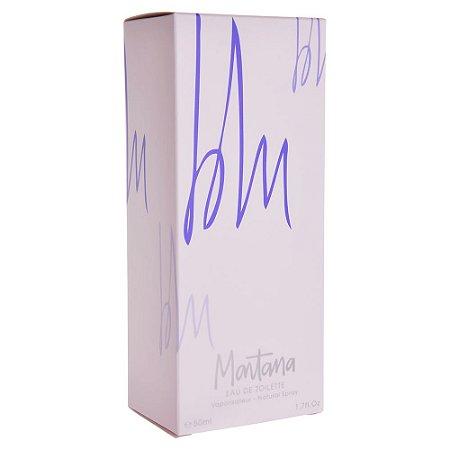 Perfume Montana Blu Claude Montana Eau de Toilette Feminino 100ml