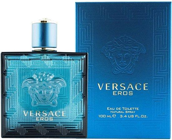 Perfume Eros Versace Eau de Toilette Masculino 100 ml