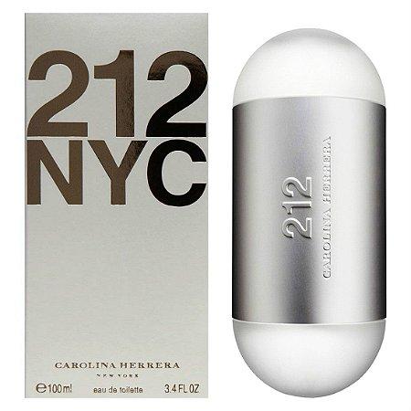 Perfume 212 NYC Carolina Herrera Eau de Toilette Feminino 100 ml