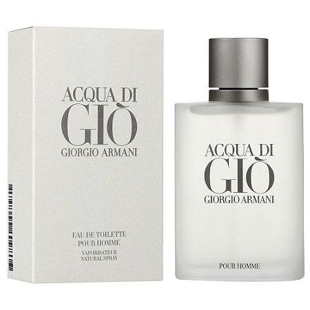 Perfume Acqua Di Gio Giorgio Armani Eau de Toilette Masculino 100 ml