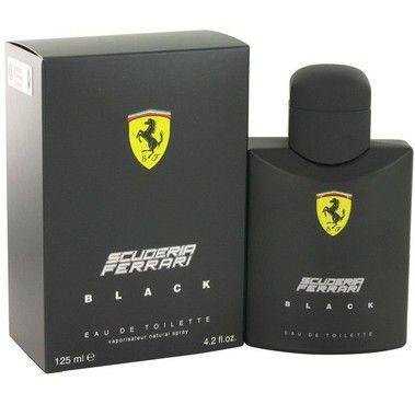 Perfume Importado Ferrari Black Edt 125ml - Scuderia Ferrari Masculino