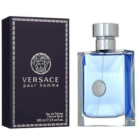 Perfume Versace Pour Homme Gianni Versace Eau de Toilette Masculino 100 ml