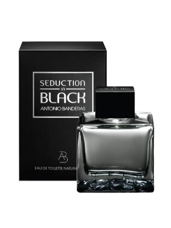 Perfume Seduction in Black Antonio Banderas Eau de Toilette Masculino 100 ml