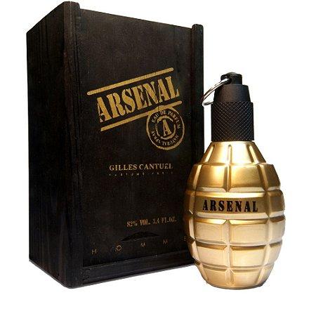 5d19f5d4397 Perfume Importado Arsenal Gold Edp 100ml - Gilles Cantuel Masculino ...