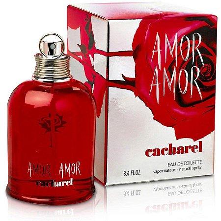 Perfume Amor Amor Cacharel Eau de Toilette Feminino 100 ml