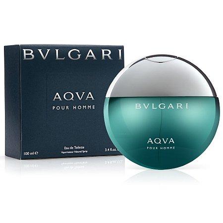 Perfume Aqva Bvlgari Eau de Toilette Masculino 100 ml