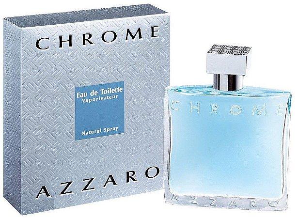 Perfume Chrome Azzaro Eau de Toilette Masculino 100 ml